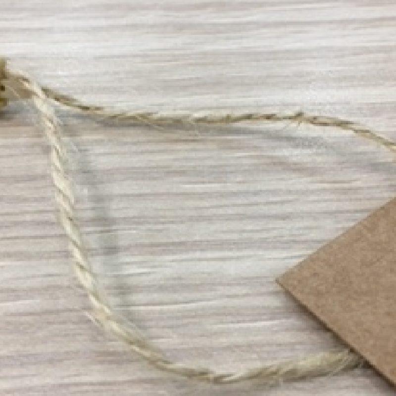 cordón para etiquetas