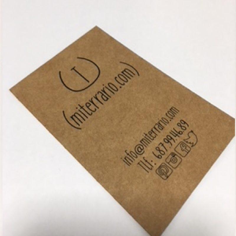 etiqueta para terrarios